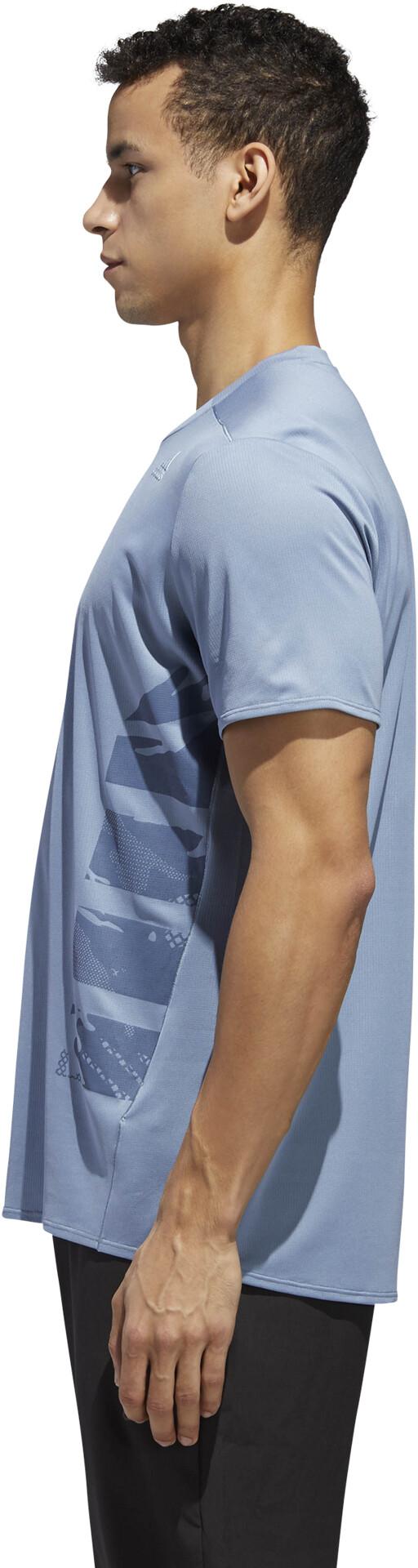 917ed272994 adidas Supernova Løbe T-shirt Herrer blå   Find outdoortøj, sko ...